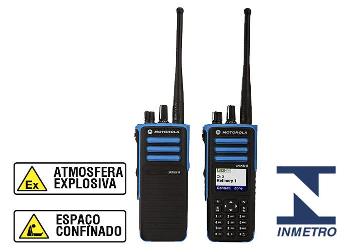 DGP™8050/8550EX - RÁDIO PORTÁTIL MOTOTRBO™ (Intrinsecamente Seguro)